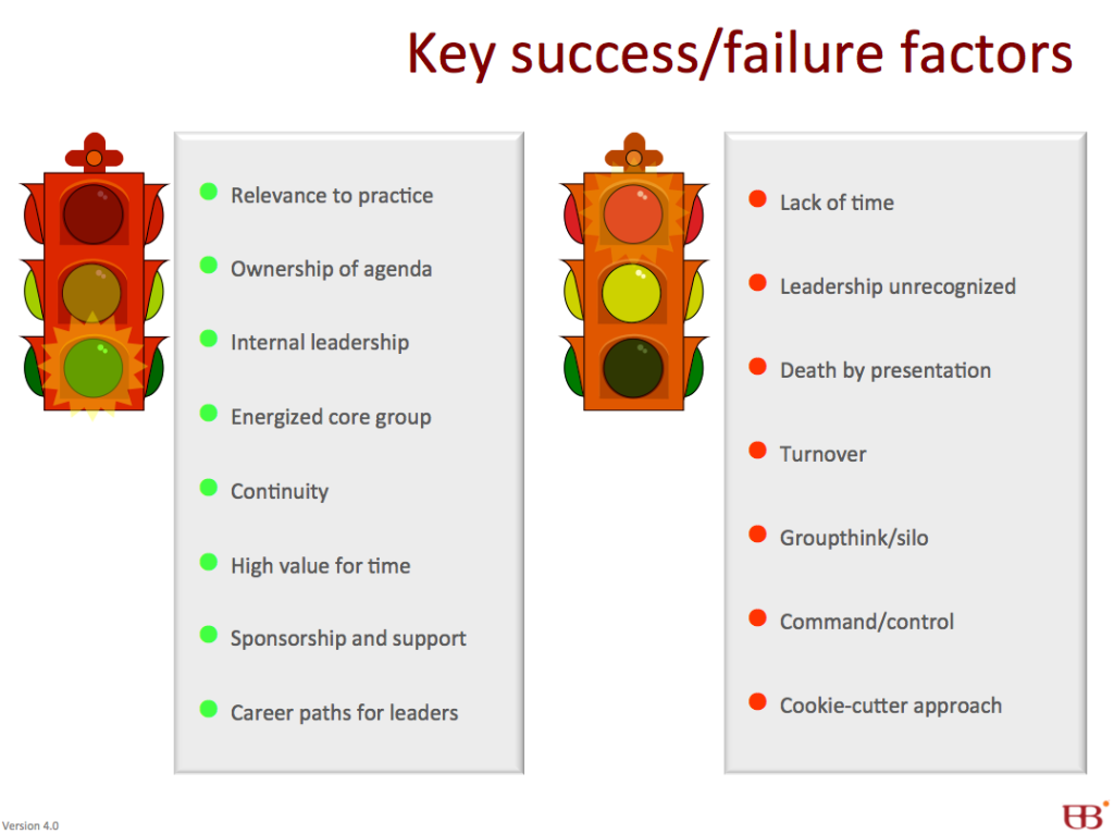 Key success and failure factors